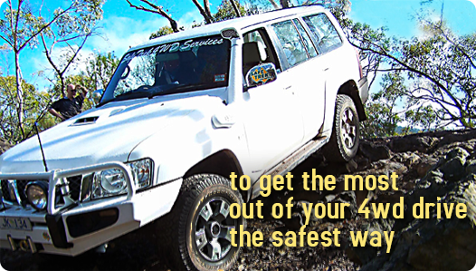 to get the most out of your 4wd drive the safest way