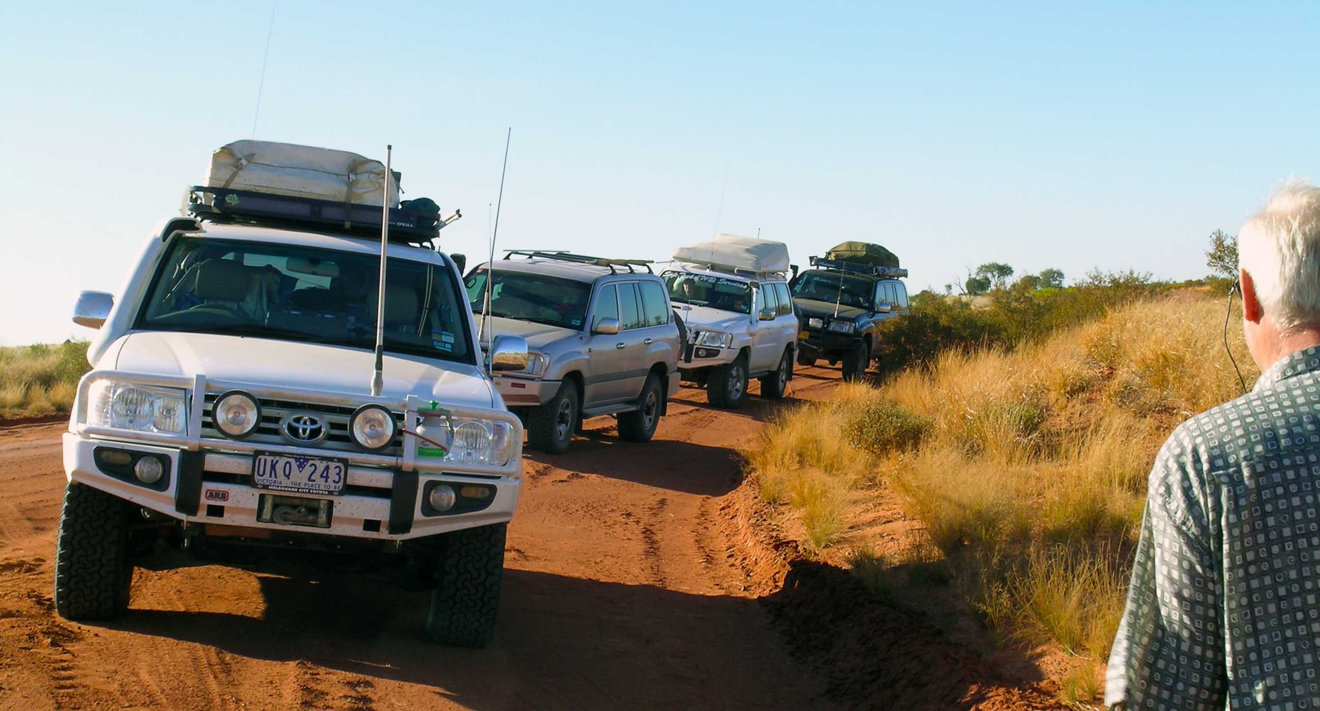 learn to drive a 4wd with Safetrek 4wd 