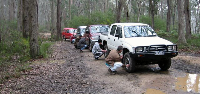 Tyre Deflation with Safetrek 4wd Services