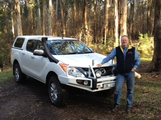 Jim Kennedy at SafeTrek 4WD Services
